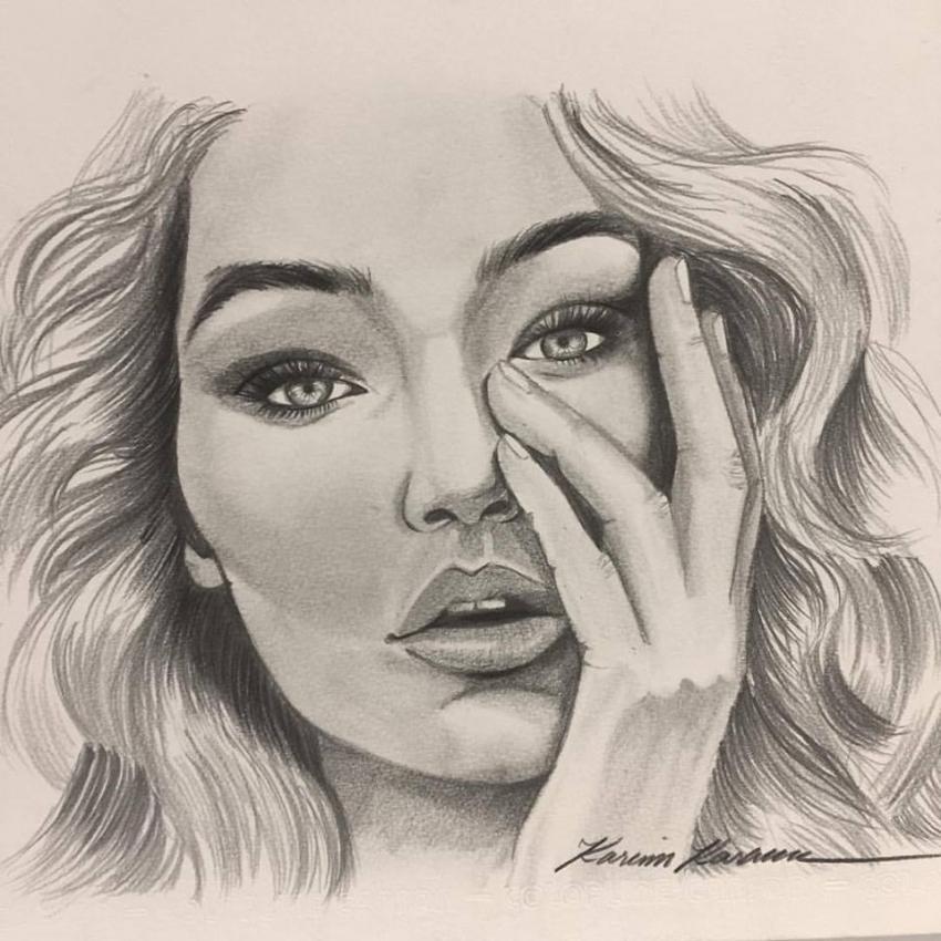 Gigi Hadid by KarimKaram
